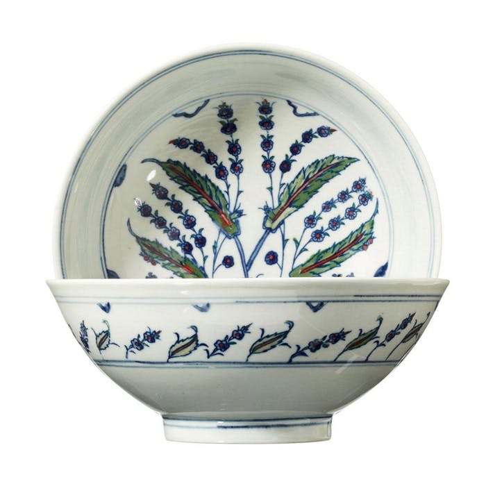 Isphahan Porcelain Soup/ Small Serving Bowl