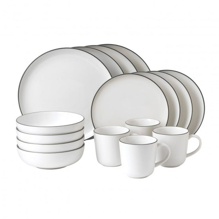 Gordon Ramsay Bread Street White 16 Piece Set