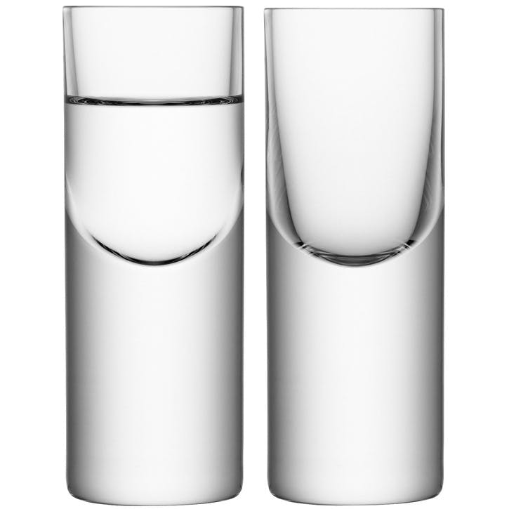 LSA Boris Vodka Glass 50 ml, Set of 2