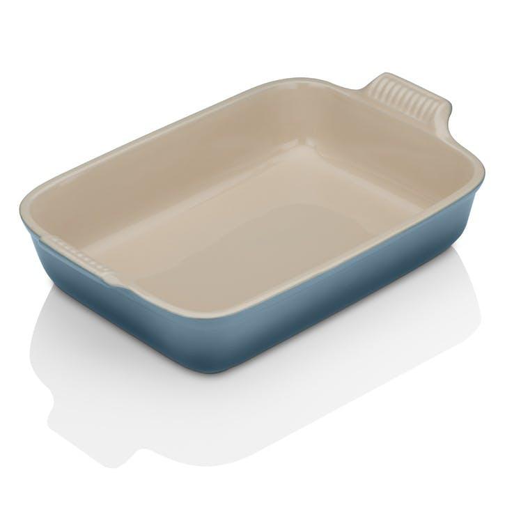 Stoneware Rectangular Dish - 32cm; Marine