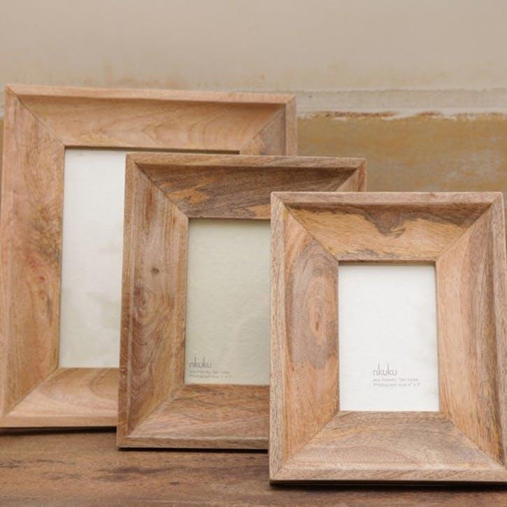 Habibi Mango Wood Frame - Large