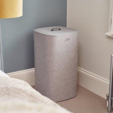 Tota Easy-Empty, Laundry Basket, 60 Litre, Grey