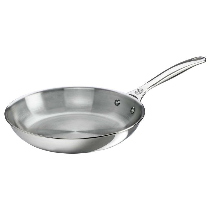 Signature Stainless Steel Uncoated Frying Pan - 26cm