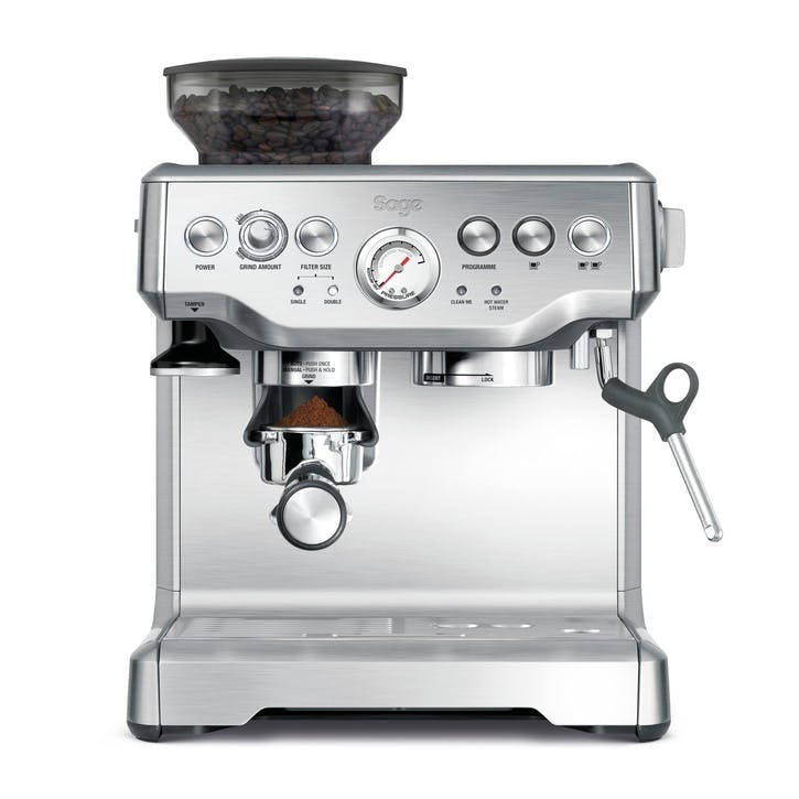 The Barista Express Coffee Machine; Steel