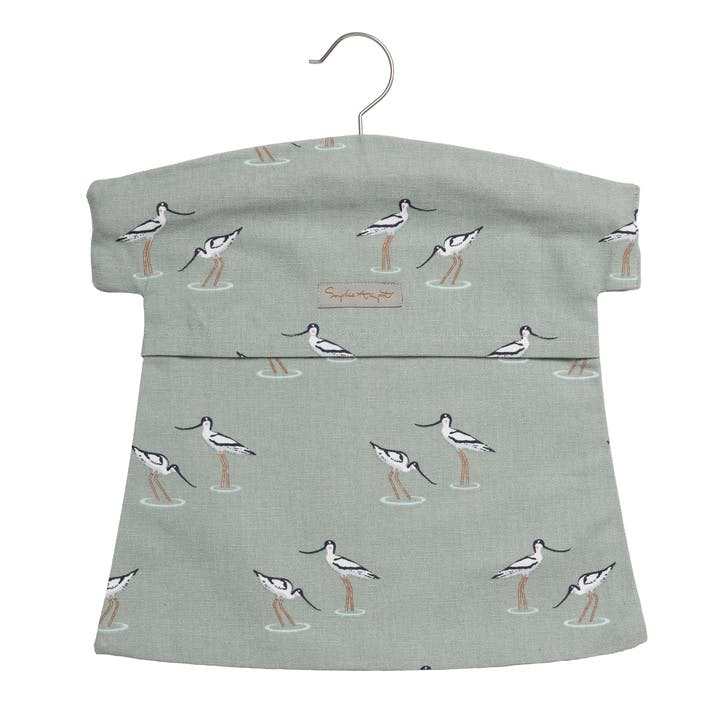 'Coastal Birds' Peg Bag