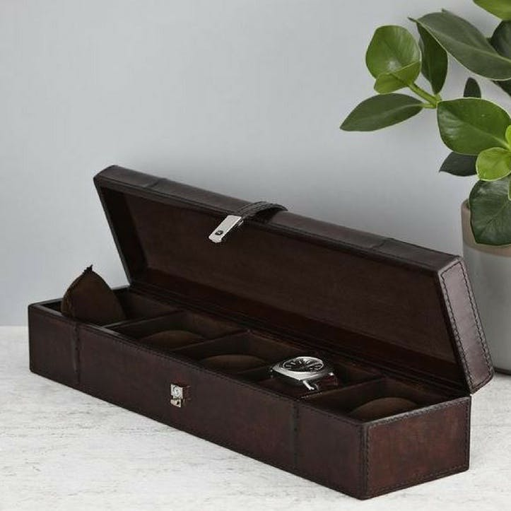 Five Watches Storage Box