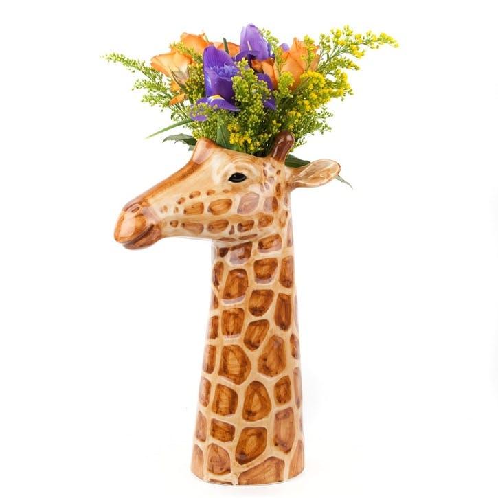 Giraffe Flower Vase, H26cm