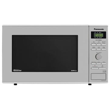 Freestanding Microwave with Grill - 23L; Stainless Steel
