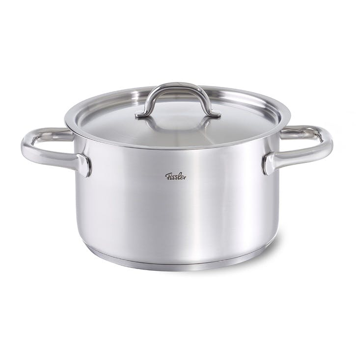 Family Line Stew Pot, 24cm, With Lid