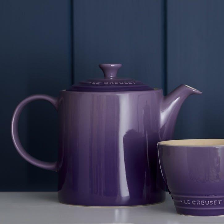 Stoneware Grand Teapot - 1.3L; Ultra Violet