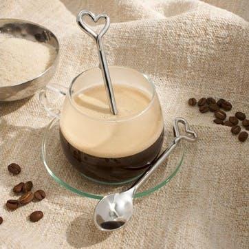 Amore Coffee Spoon Four Piece Set