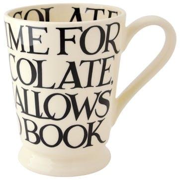 Black Toast Cocoa Mug, 600ml