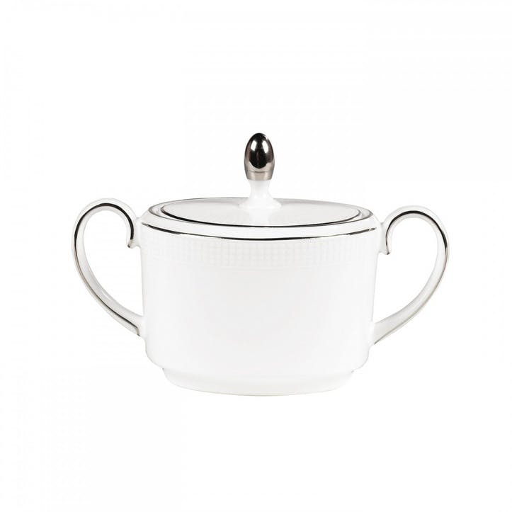 Blanc Sur Blanc Sugar Pot