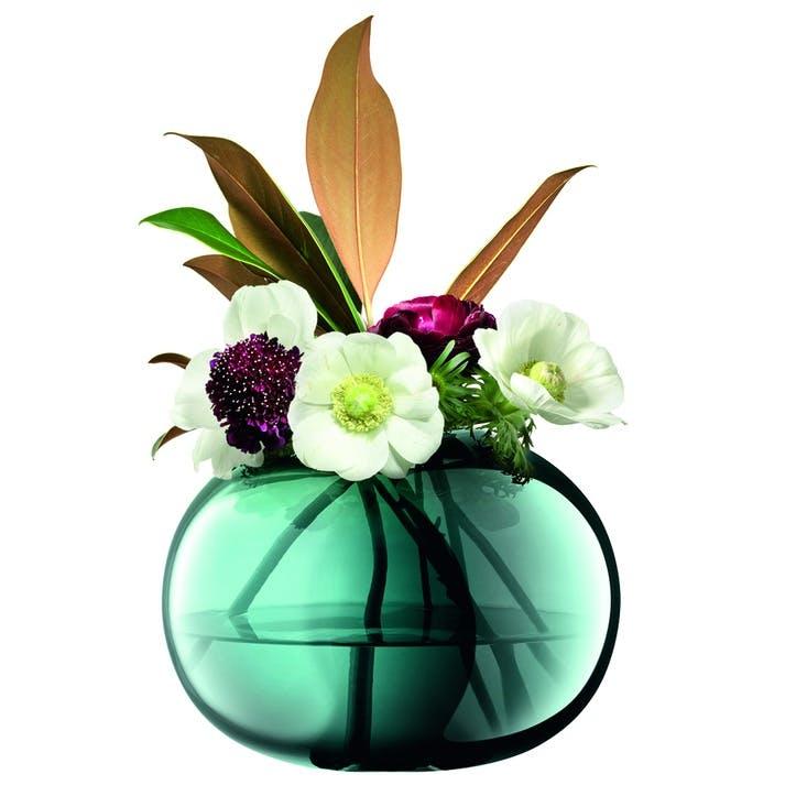 Époque, Vase, H18cm,Peacock
