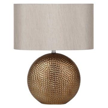 Mabel Ceramic Table Lamp; Bronze