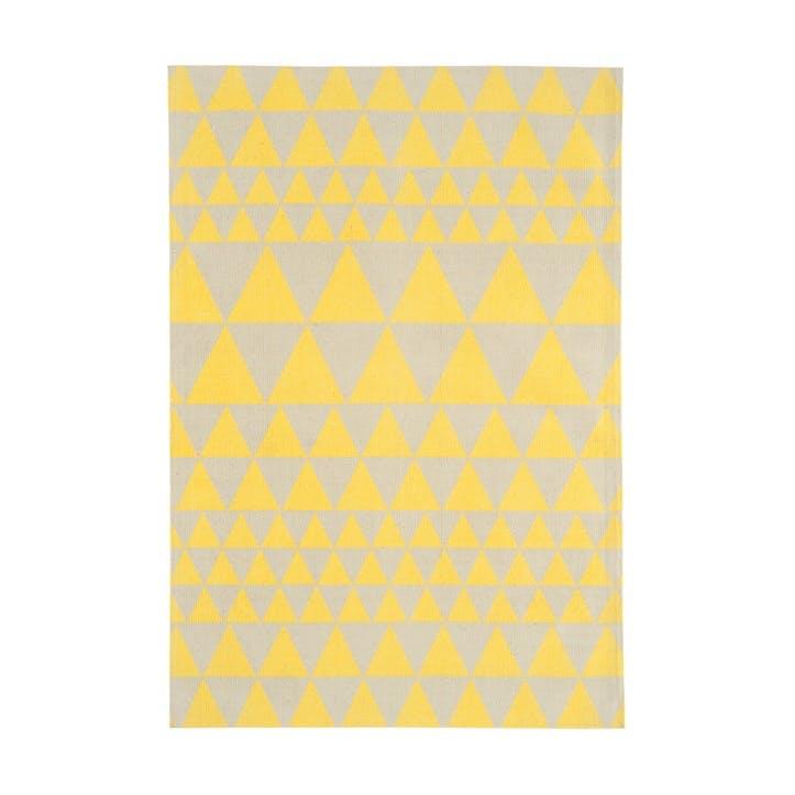 Onix Triangles Rug - 1.2 x 1.7m; Yellow