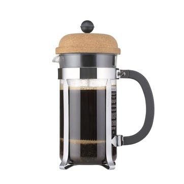 Chambord, 8 Cup Coffee Maker, 1 Litre, Cork