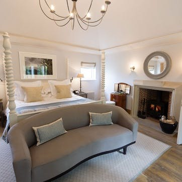 A voucher towards a stay at Lime Wood Hotel for two, Hampshire