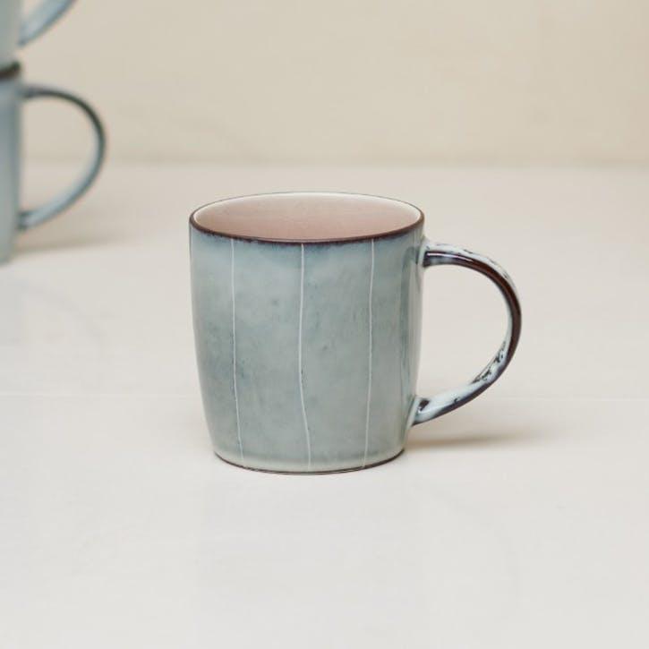 Bao Handled Mug; Dusky Pink