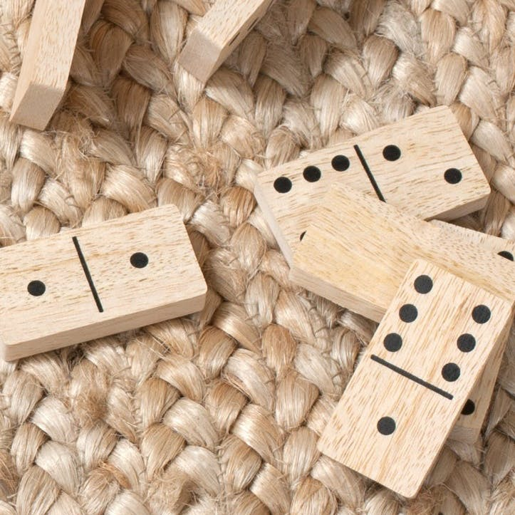Mango Wood Dominoes