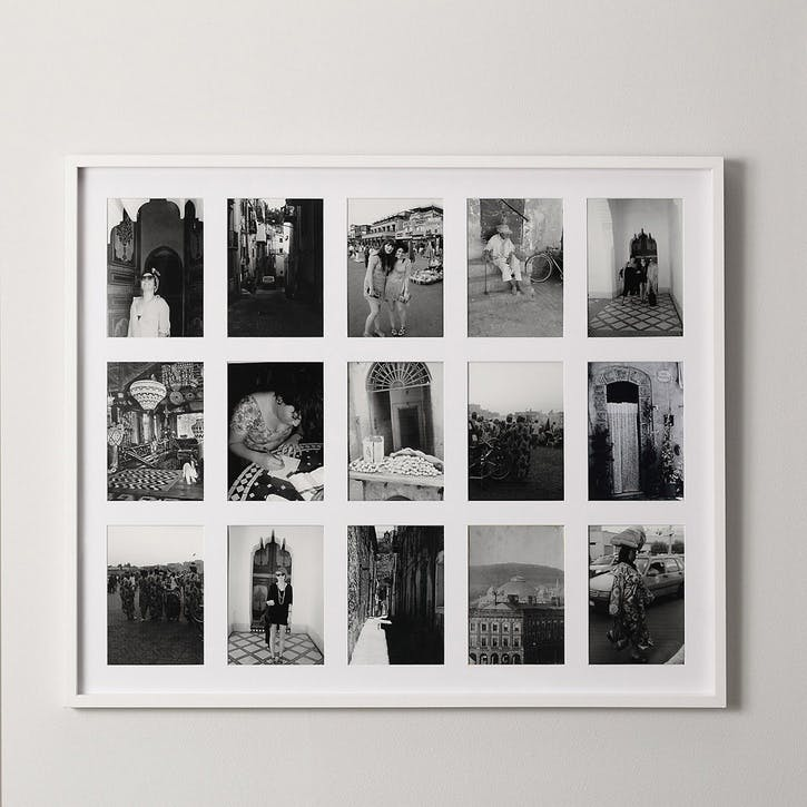 15 Aperture Fine Memories Frame, White