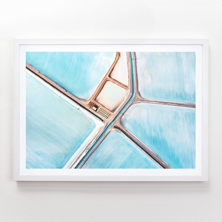 Blue Fields 1 Print, 42cm x 59.4cm