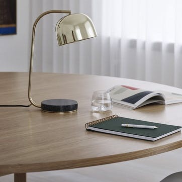 Grant Table Lamp D17.5 x H45cm Brass
