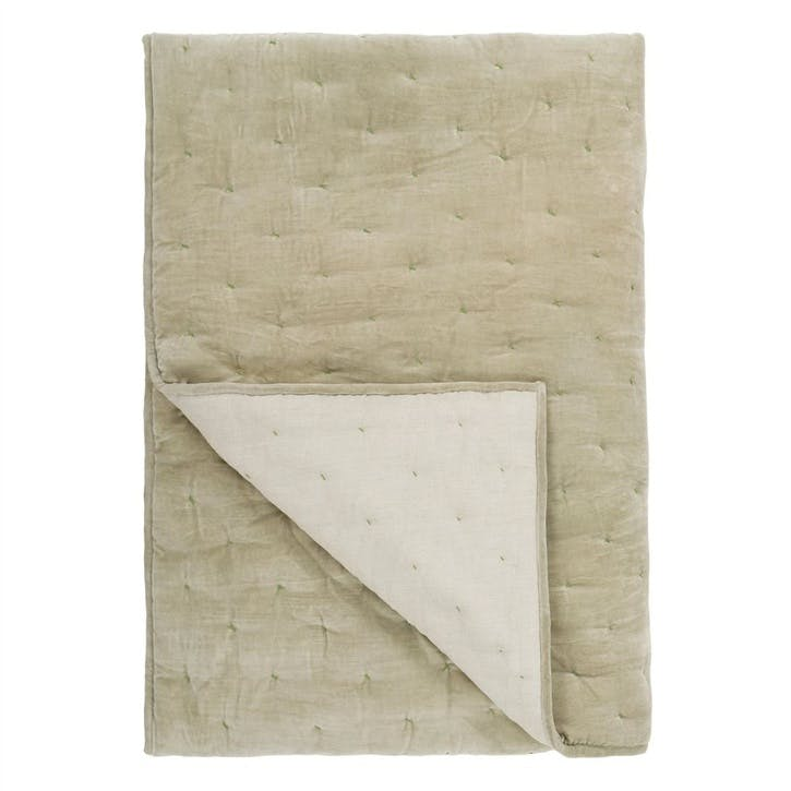 Sevanti Dove Quilted Throw
