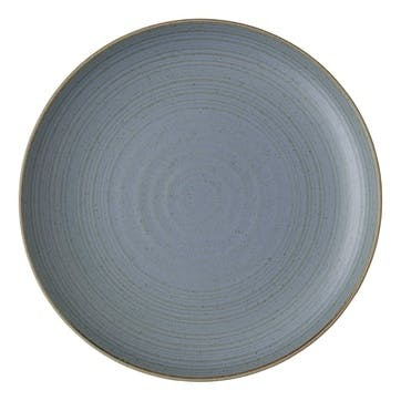 Nature, Dinner Plate, Dia27cm, Water Blue