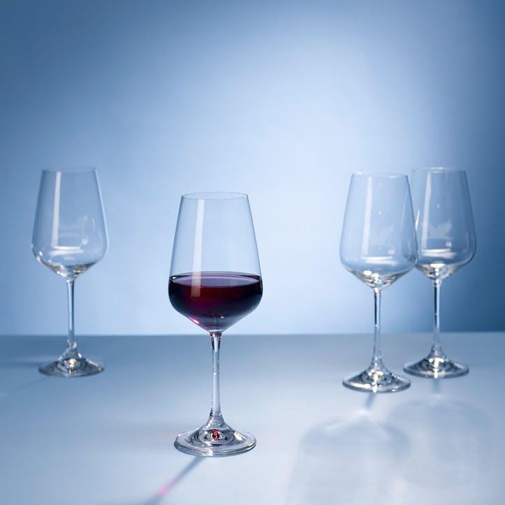 Ovid Red Wine Goblet 215mm Set of 4
