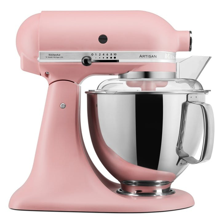 Artisan Stand Mixer with FREE Glass Mixing Bowl, 4.8L, Dried Rose
