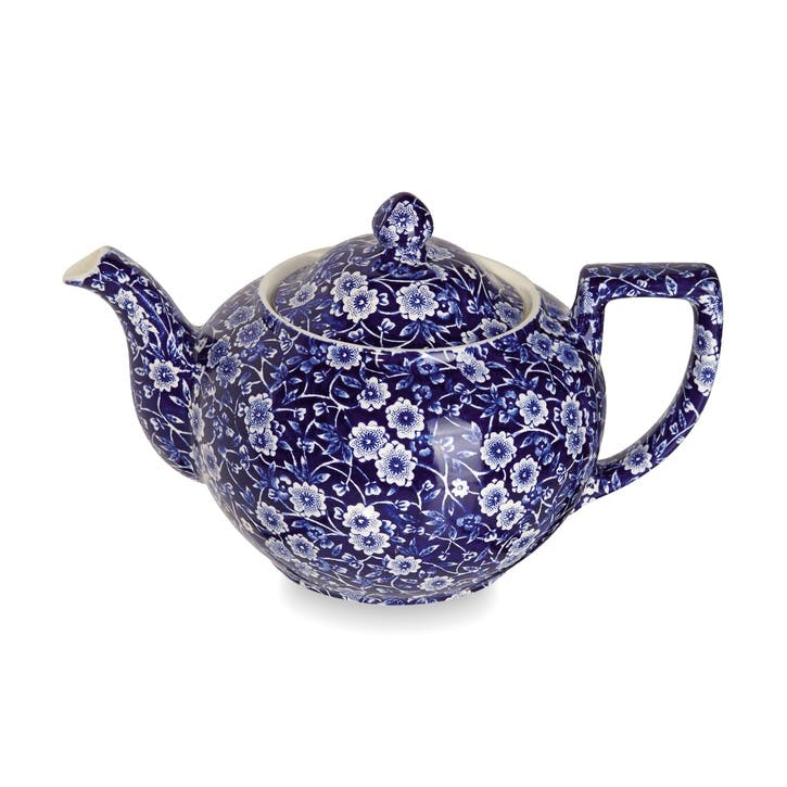Calico Teapot, 1lt, Blue