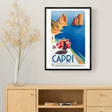 East End Prints, Capri Framed Art Print