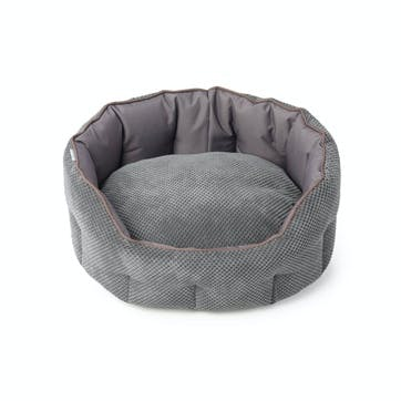 Cord & Water Resistant Oval Snuggle Bed, M