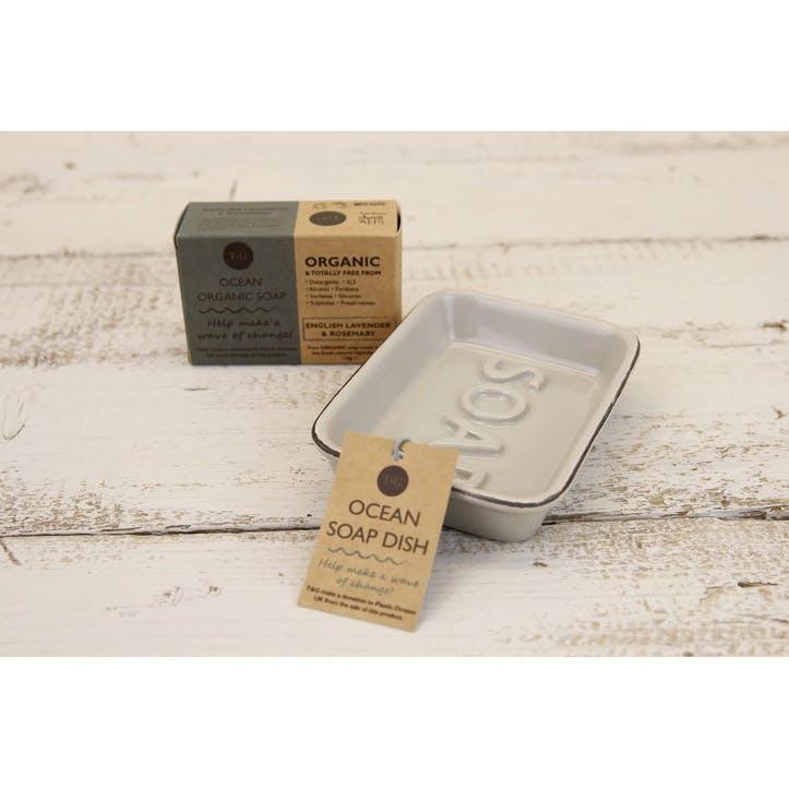 Ocean Soap Dish, Grey