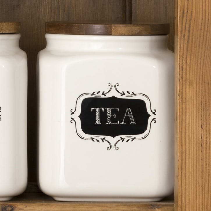 Stir It Up Ceramic Tea Jar
