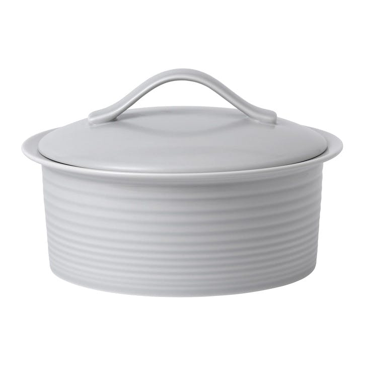 Gordon Ramsay Maze Casserole Dish, 24cm, Light Grey