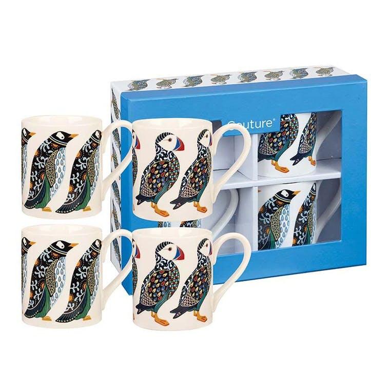 Puffins & Penguins Mug Set