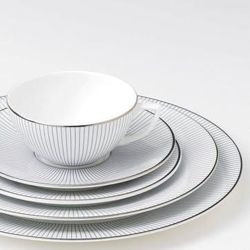 Pin Stripe Dinner Plate