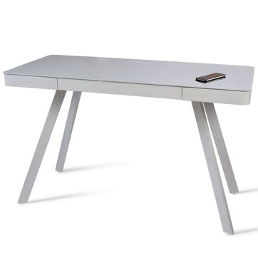 Silas 2.0 Smart Desk, Light Grey
