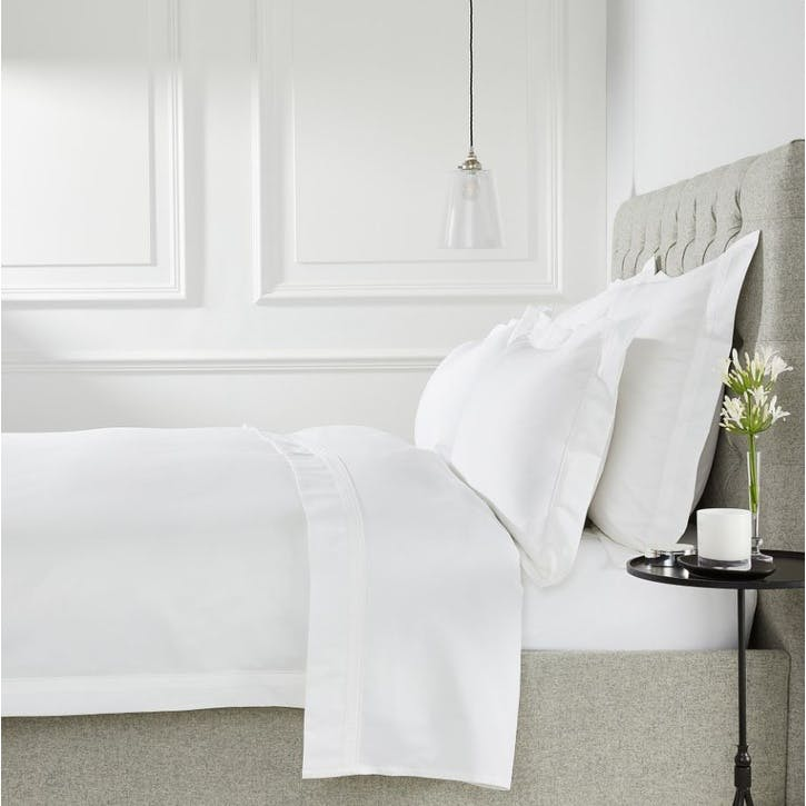 Cavendish Duvet Cover, King, White