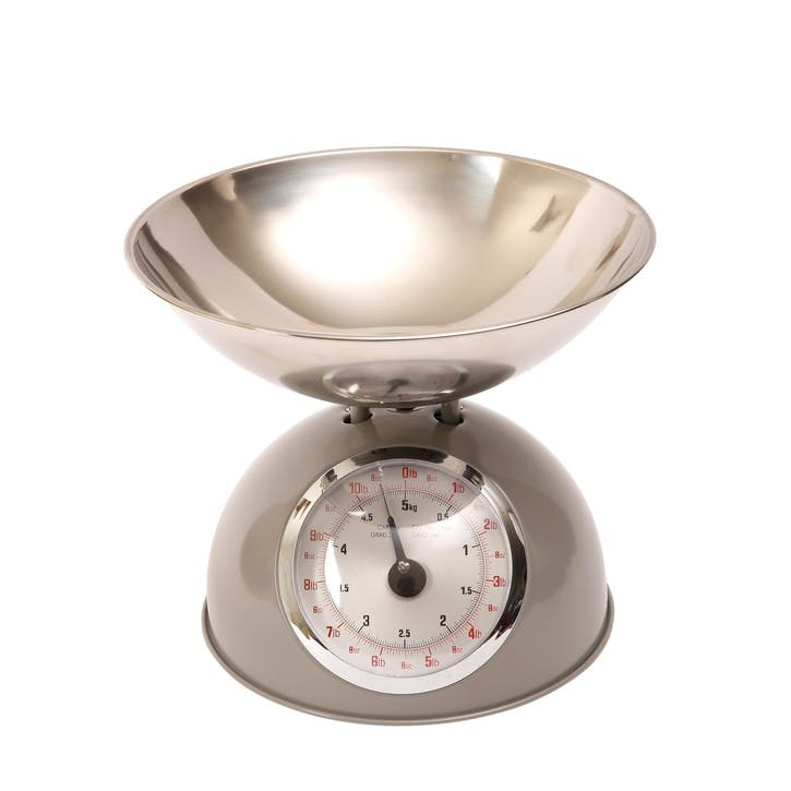Traditional Kitchen Scale, Grey