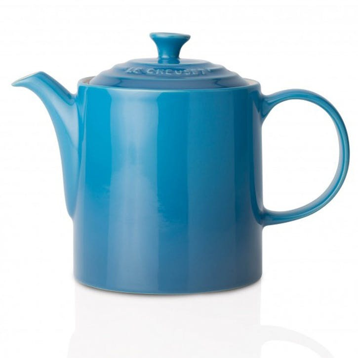 Stoneware Grand Teapot - 1.3L; Marseille Blue