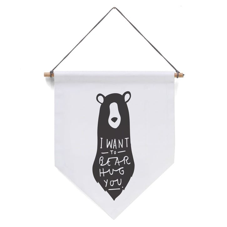 'Bear Hug' Banner