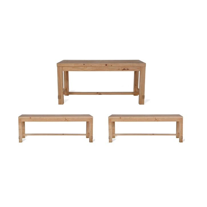 Brookville Table and Bench Set, Small