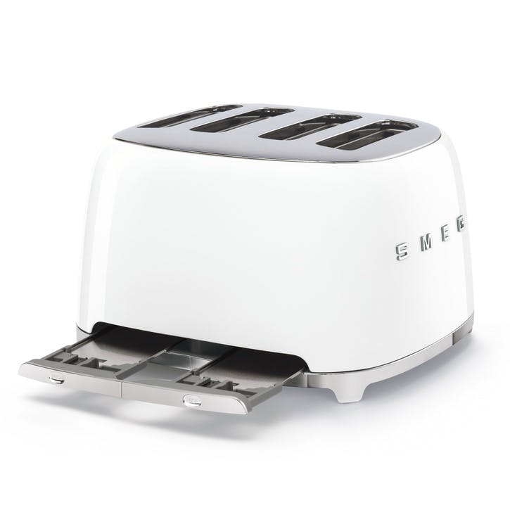 4 By 4 Toaster, White