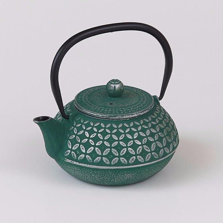 Cast Iron Teapot, Jade