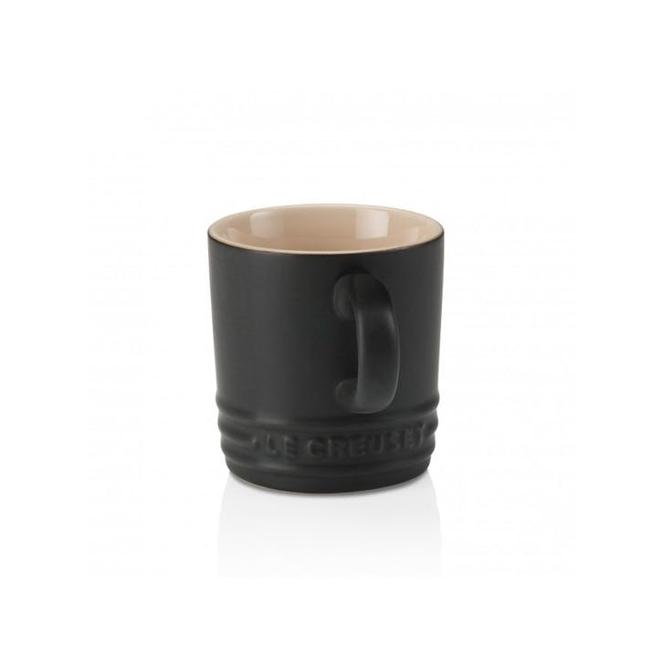 Stoneware Espresso Mug; Satin Black