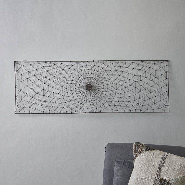 Arna Rectangular Wire Wall Art