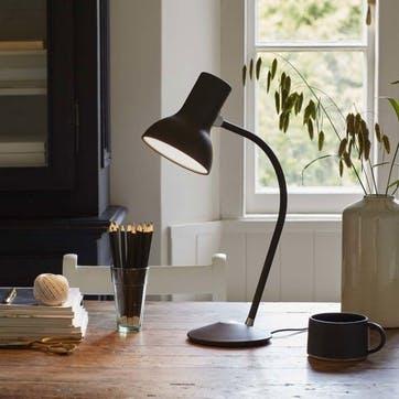 Type 75 Mini Table Lamp, Black Umber